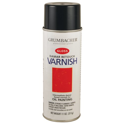 Grumbacher Retouch Varnish Spray