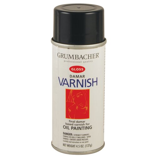 Grumbacher Damar Varnish Spray