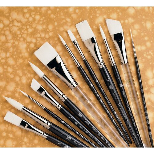 Princeton Artist Brush Short Handle Acrylic Round Brush