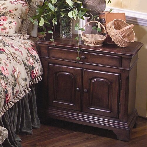 Leda Furniture Nottingham Cottage Single Drawer Nightstand