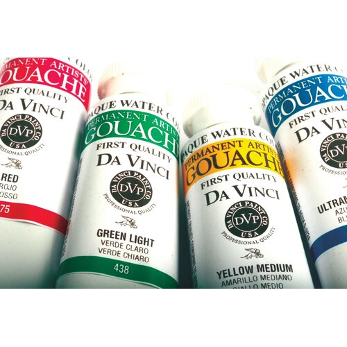 Da Vinci Paints Artists' Gouache Opaque Watercolor Paint