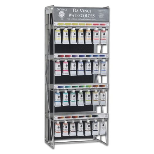 Da Vinci Paints 37ml Watercolor Paint Top Display