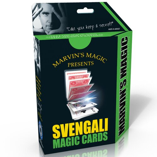 Reeves The Unbelievable Magic Svengali Cards
