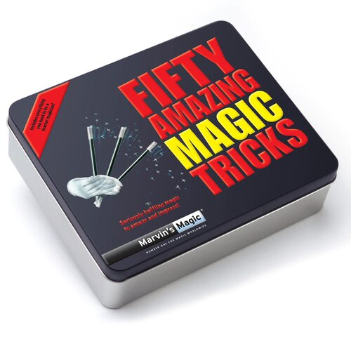 Reeves Marvin's 50 Piece Amazing Magic Tricks Gift Set