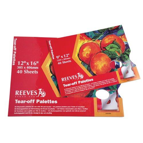 Reeves Tear Off Palette
