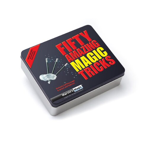 Reeves Marvin's Amazing Magic Tricks Gift 50 Piece Set