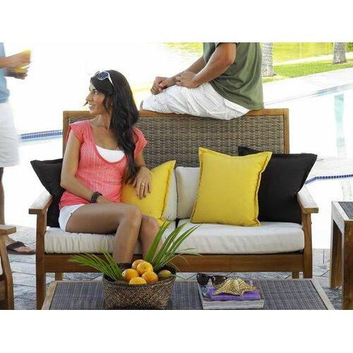 Panama Jack Outdoor Leeward Islands Loveseat with Cushions