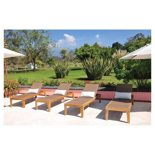 Panama Jack Outdoor Leeward Islands Chaise Lounge