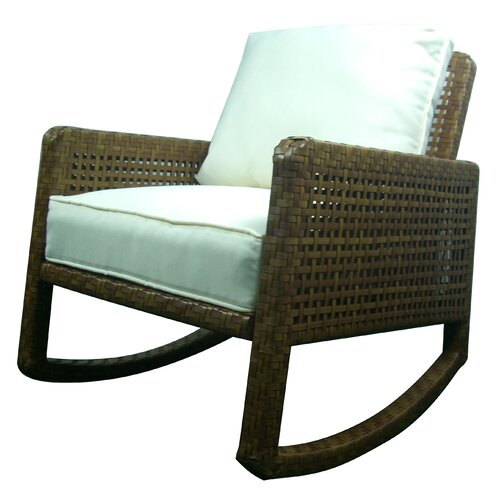 Panama Jack Outdoor St Barths Rocking Chair with Cushion