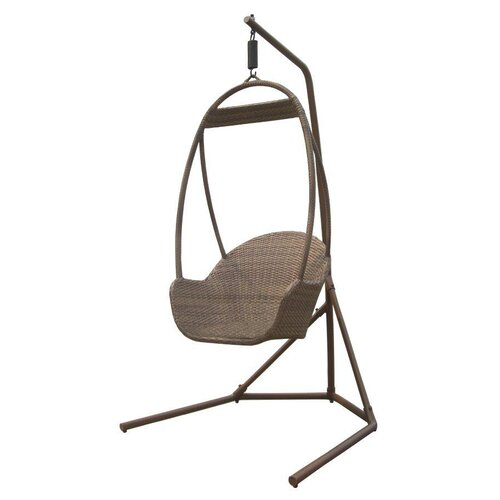 Panama Jack Outdoor Island Cove Porch Swing with Base