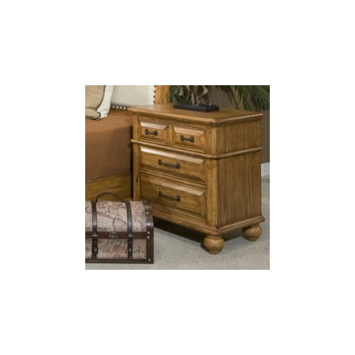 Coronado 3 Drawer Nightstand