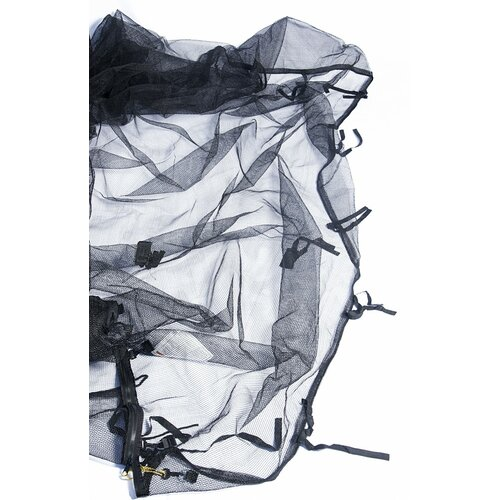 SKYBOUND 15' Trampoline Net Using 6 Straight Poles