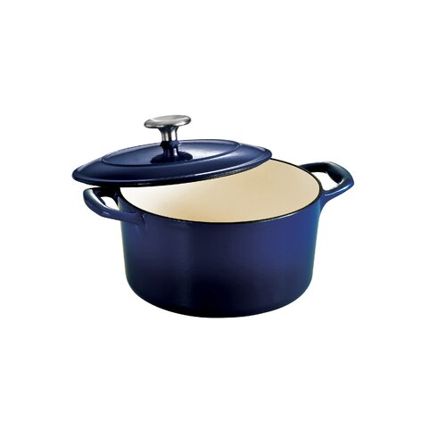Series1000 5.5-qt. Cast Iron Round Dutch Oven