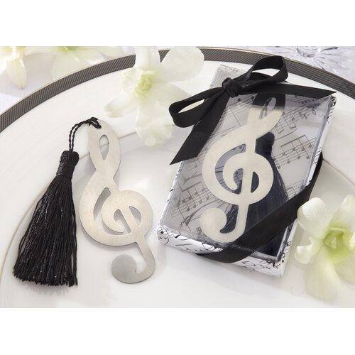 Kate Aspen ''Timeless Duet'' Openwork Bookmark with Elegant Silk Tassel