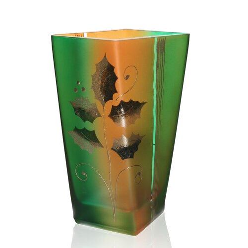 Holiday Square Vase