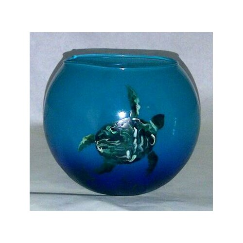 Womar Glass Sea Turtle Bowl