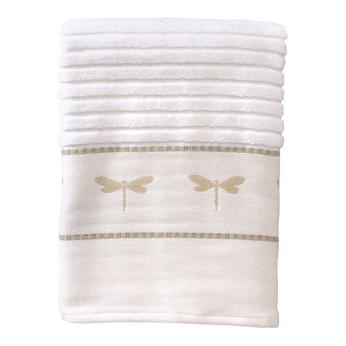 Dragonfly Jacquard Bath Towel