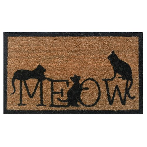 The Cat's Meow Doormat