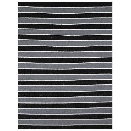 Black Stripe Rug