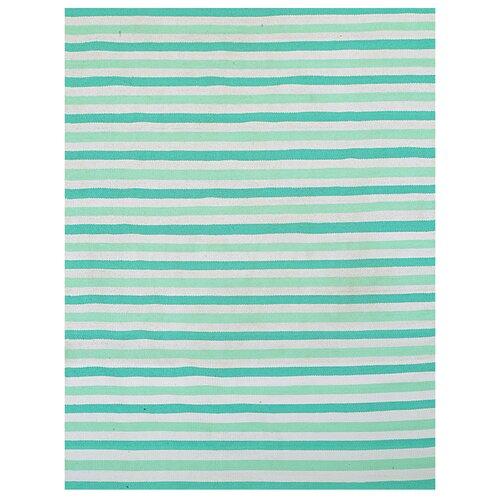 Green Stripe Rug