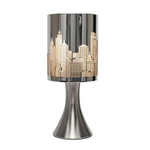 Bedroom Lamps Tesco: MiniSun New York Skyline Touch Table Lamp & Reviews