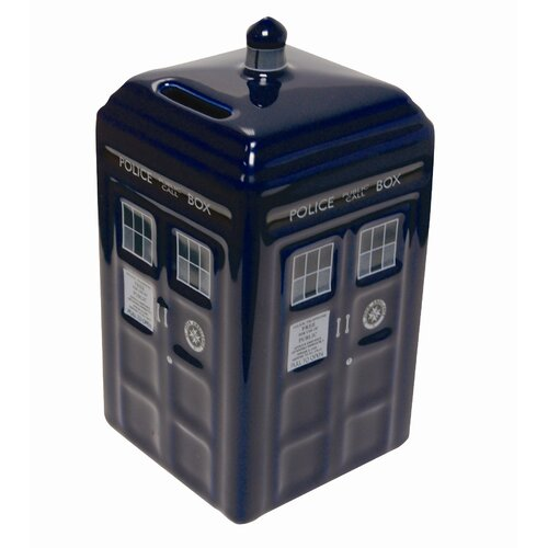 Underground Toys Doctor Who Tardis Money Bank
