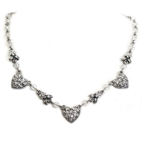 Queen of Hearts Crystal Necklace