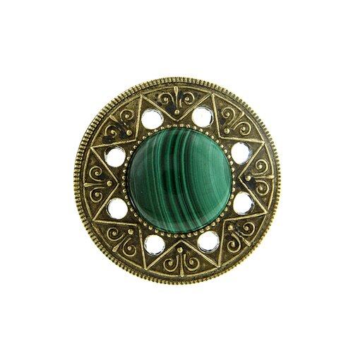 Aztec Mandala Statement Ring