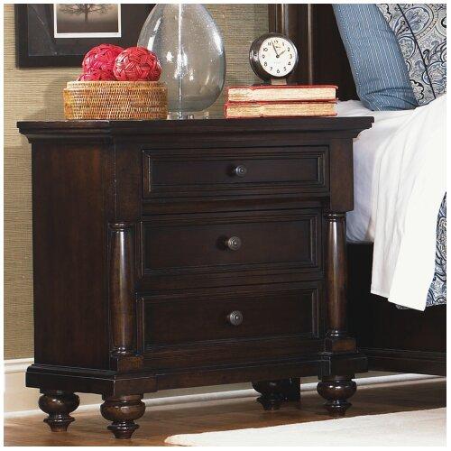 Legacy Classic Furniture Davenport 3 Drawer Nightstand
