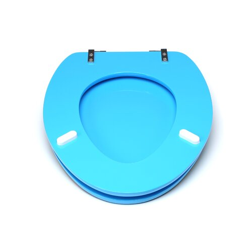 Topseat 3D Ocean Series Elongated Toilet Seat