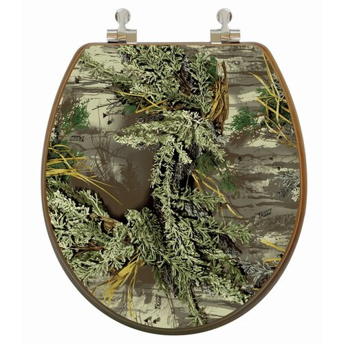 Topseat RealTree Camouflage Round Toilet Seat