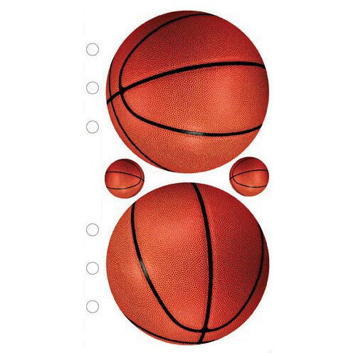 EK Success Sticko Photo Basketball Sticker