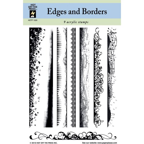 Hot Off the Press Edges & Borders Clear Stamp Set
