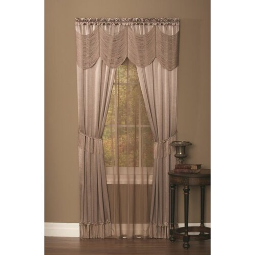 Achim importing co hlpn halley window in a bag set set of for Online curtains and drapes