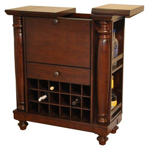 Eci Rustic Bar With Wine Storage Reviews Wayfair