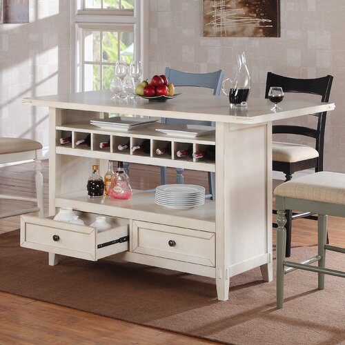 Kitchen Island With 4 Chairs: ECI Four Seasons Kitchen Island & Reviews