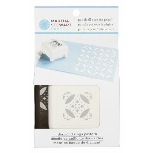 Martha Stewart Crafts All Over The Page Diamond Rings Punch