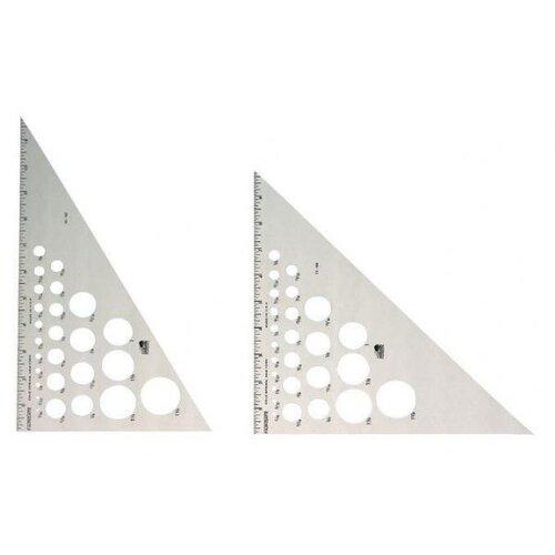 Fairgate Aluminum 45° 90° Triangle