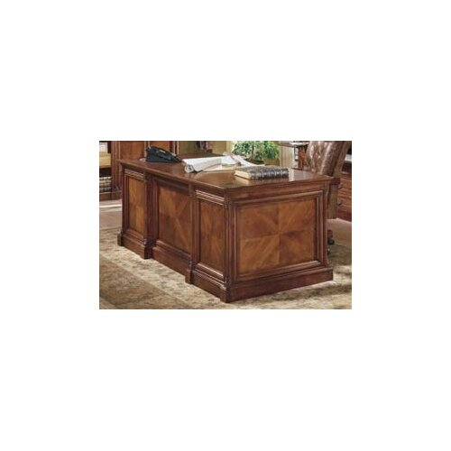 kathy ireland Home by Martin Furniture Mt. View Office Flat Top Executive Desk