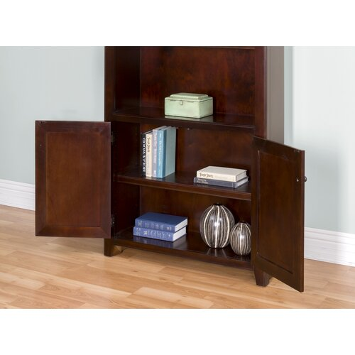 kathy ireland home by martin furniture tribeca loft library bookcase