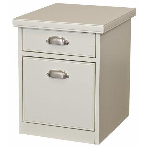 Tribeca Loft 2-Drawer Mobile File Cabinet