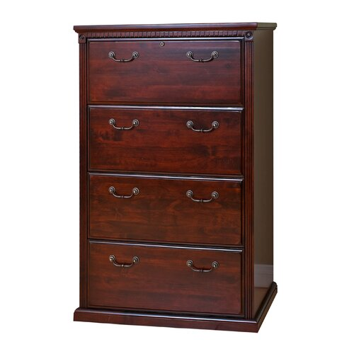 Huntington Club Four Drawer Lateral File Cabinet