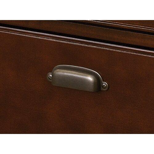 "kathy ireland Home by Martin Furniture Tribeca Loft 68"" Storage Credenza with Sliding Doors"