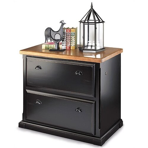 Southampton Onyx 2-Drawer File