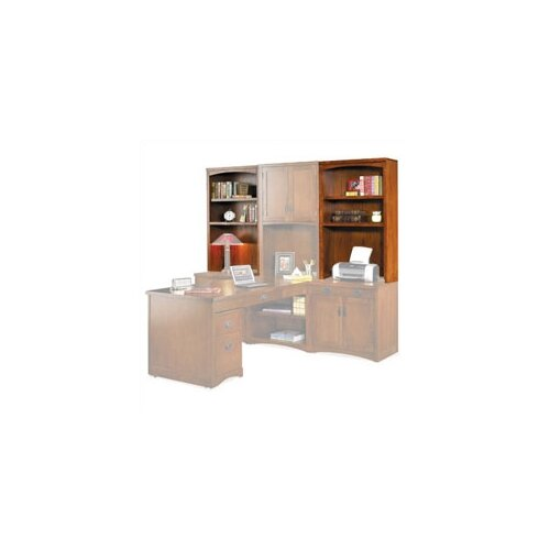 "kathy ireland Home by Martin Furniture Mission Pasadena 48"" H x 30"" W Desk Hutch"