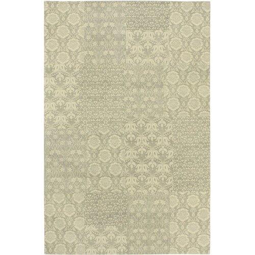Collage Gray Patchwork Rug