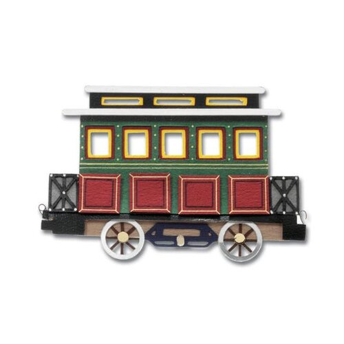 Jolee's Boutique Non-Adhesive Train Embellishment