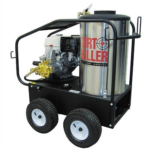 4.2 GPM / 3200 PSI Hot Water Gas Pressure Washer with Electric Start