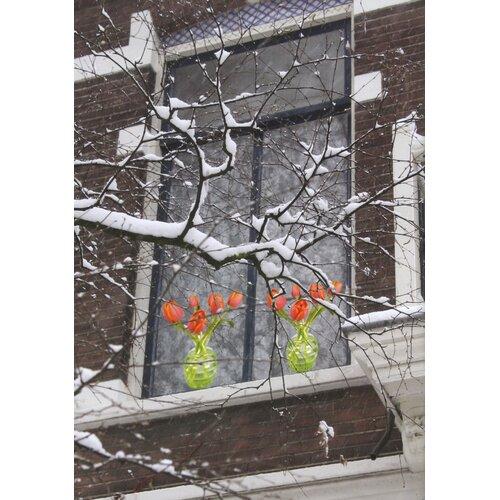 Oots Flat Flowers Window Sticker by Suseela