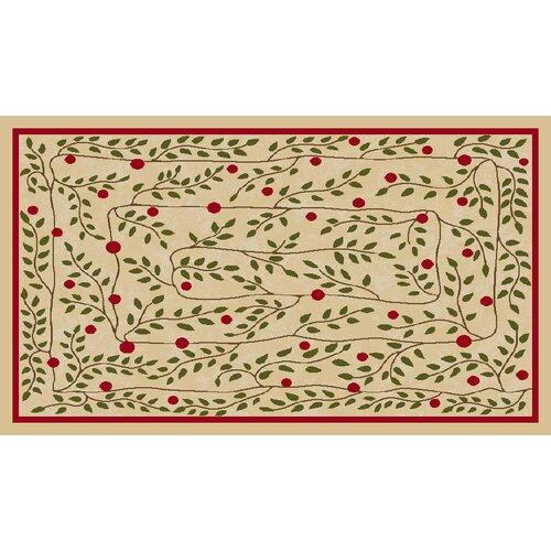 Brumlow Mills Hollyberry Vine Novelty Rug